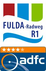 4-Sterne-ADFC-Qualitätsroute Fulda-Radweg
